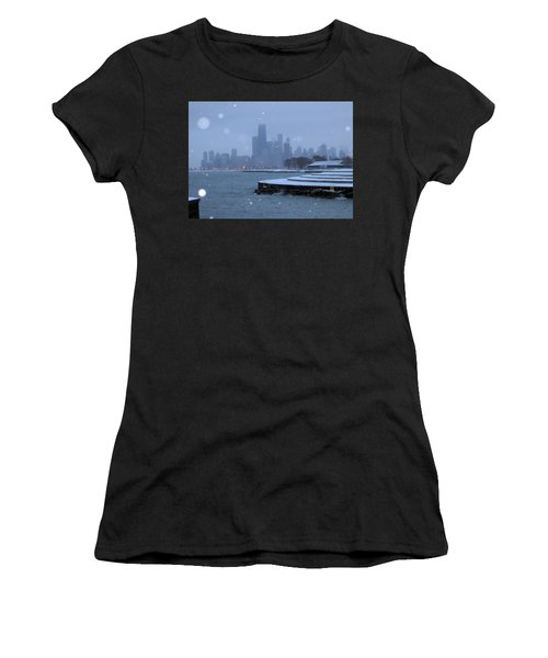 Snowy Chicago Women's T-Shirt