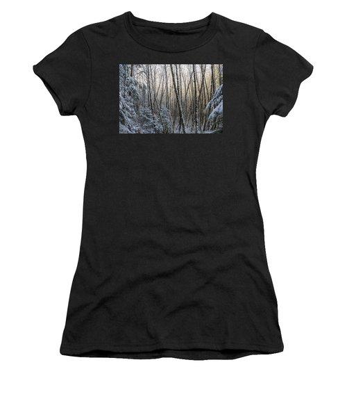 Snow On The Alders Women's T-Shirt