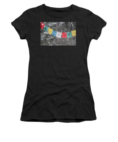 Snow Prayers Women's T-Shirt