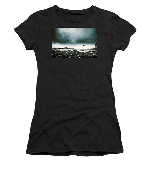 Snow Railway Women's T-Shirt