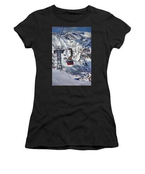 Snowbird Tram Portrait Women's T-Shirt