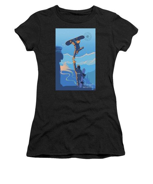 Snowboard High Five Women's T-Shirt