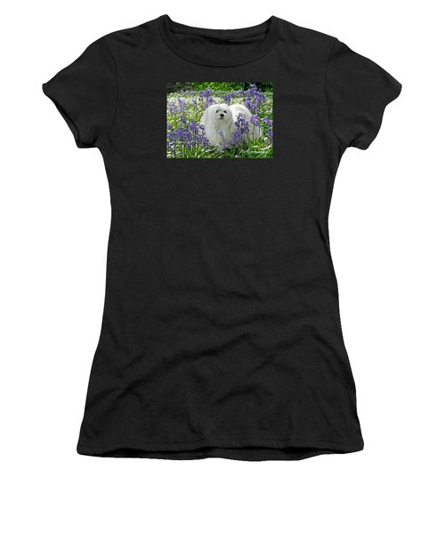 Snowdrop In The Bluebell Woods Women's T-Shirt