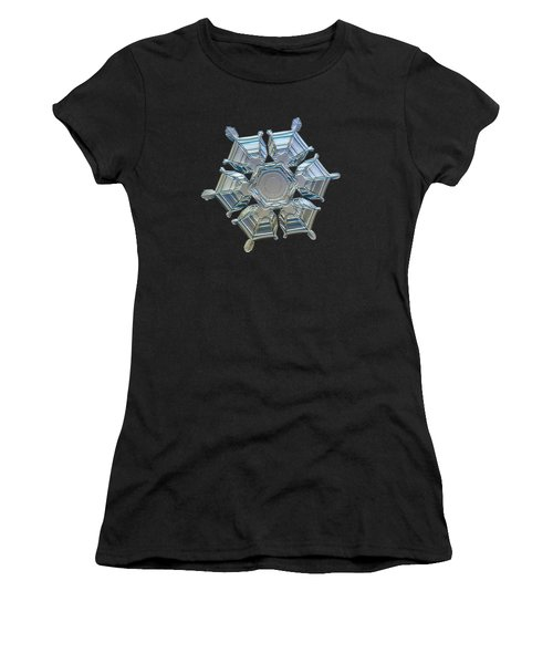 Snowflake Photo - Ice Relief Women's T-Shirt