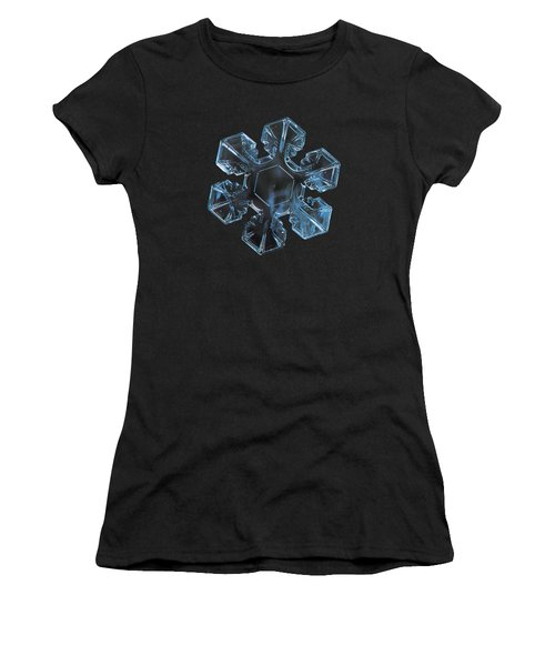 Snowflake Photo - The Core Women's T-Shirt