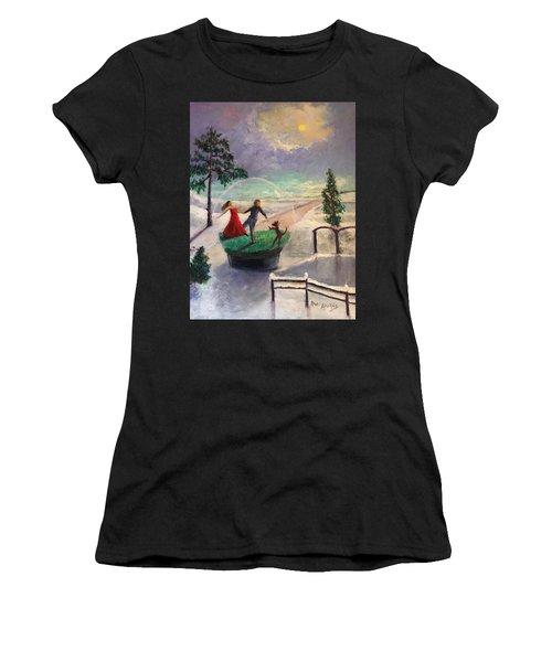 Snowglobe Women's T-Shirt
