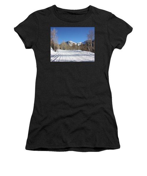 Snowy Aspen Women's T-Shirt