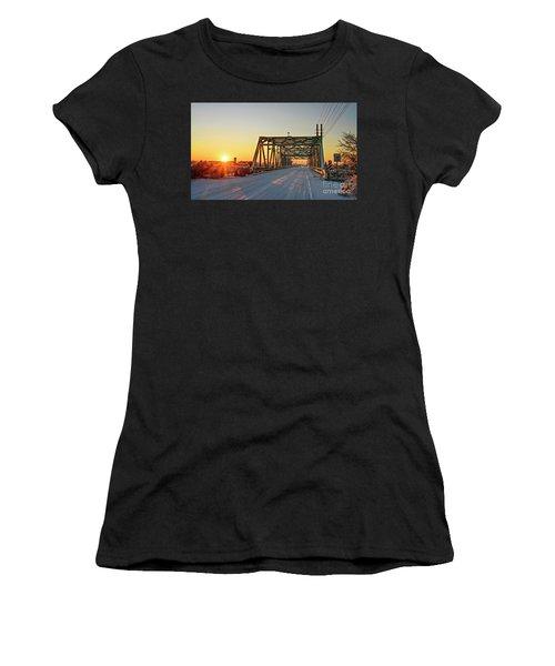 Snowy Bridge Women's T-Shirt