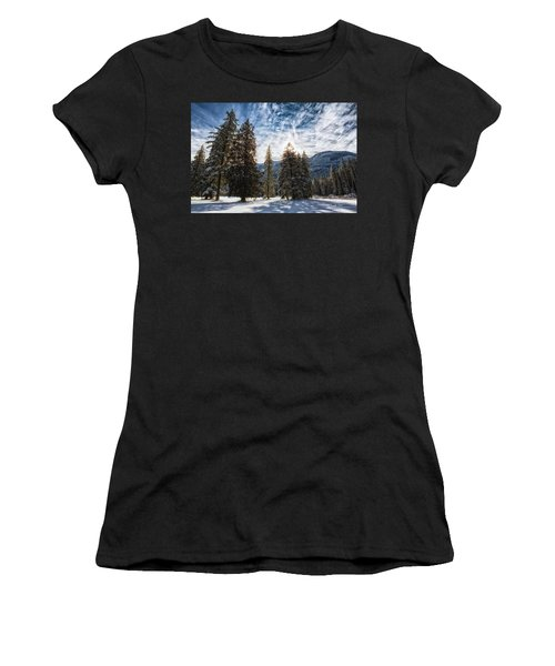 Snowy Clouds Women's T-Shirt
