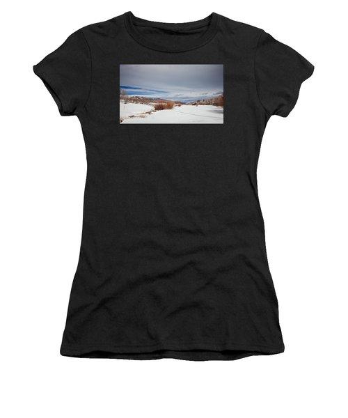 Snowy Field Women's T-Shirt