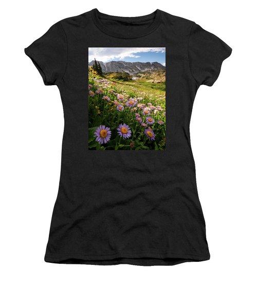 Snowy Range Flowers Women's T-Shirt