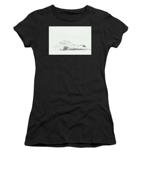 Snowy Sunrise Women's T-Shirt