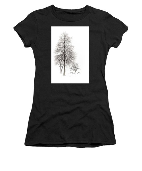 Snowy Trees Women's T-Shirt