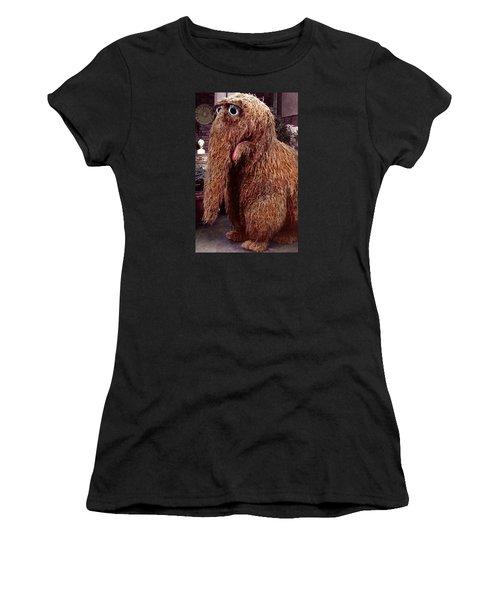Snuffleupagus Women's T-Shirt (Athletic Fit)