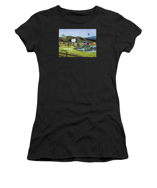 Soaring Over Colorado Women's T-Shirt (Athletic Fit)