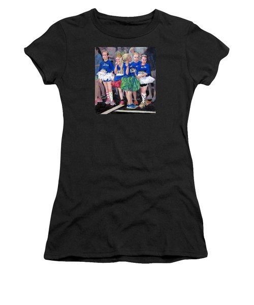 Soccer Girls Women's T-Shirt (Athletic Fit)