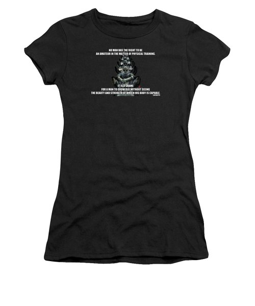 Socrates Women's T-Shirt (Athletic Fit)