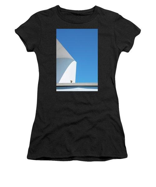 Soft Blue Women's T-Shirt (Athletic Fit)