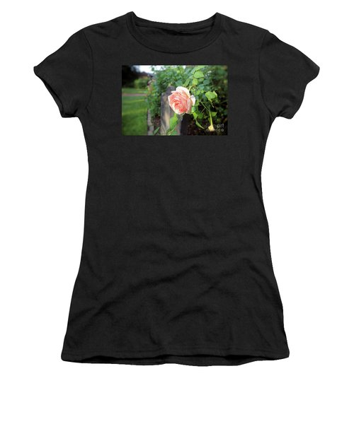 Soft Rose Women's T-Shirt (Athletic Fit)