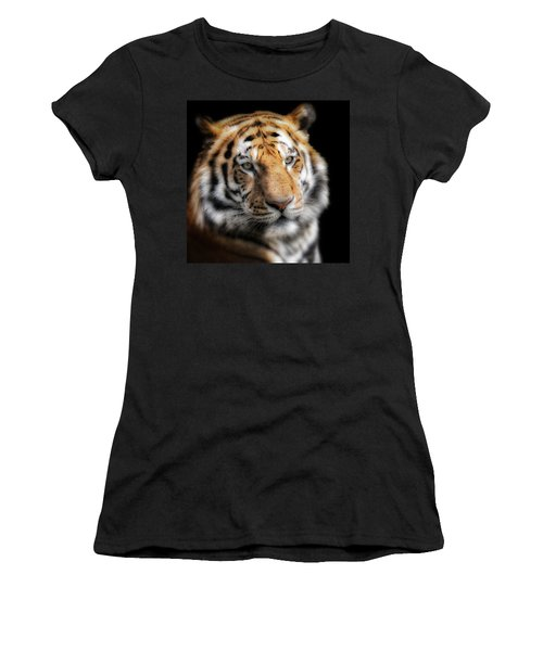 Soft Tiger Portrait Women's T-Shirt