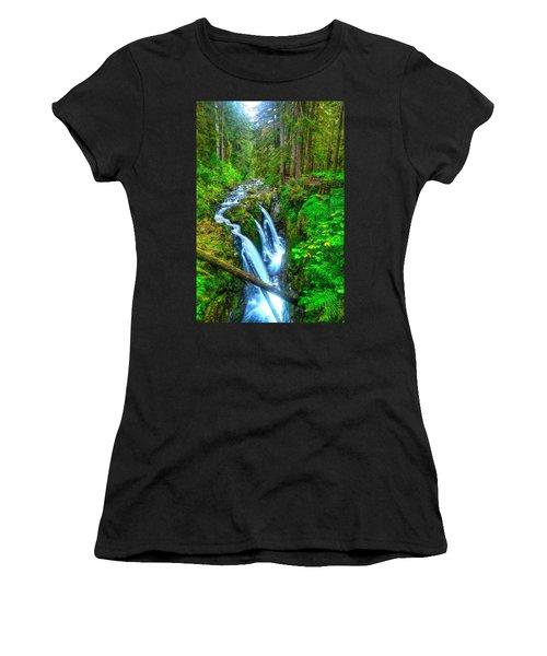 Sol Duc Falls Women's T-Shirt