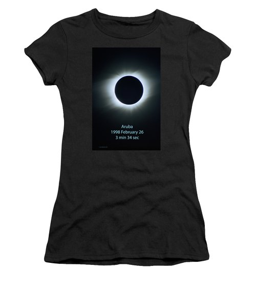 Solar Eclipse Aruba 1998 Women's T-Shirt