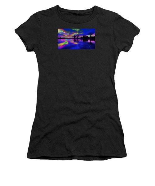 Solar Sunset Women's T-Shirt (Athletic Fit)