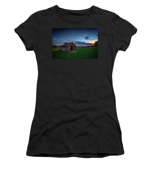 Soldier's Quarters At Valley Forge Women's T-Shirt