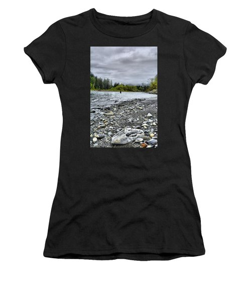 Solitude On The River Women's T-Shirt