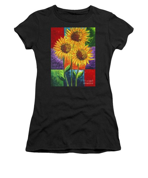 Sonflowers I Women's T-Shirt (Athletic Fit)