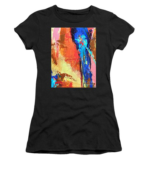Song Of The Water Women's T-Shirt (Athletic Fit)