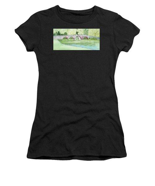 Sonning Bridge Women's T-Shirt (Athletic Fit)
