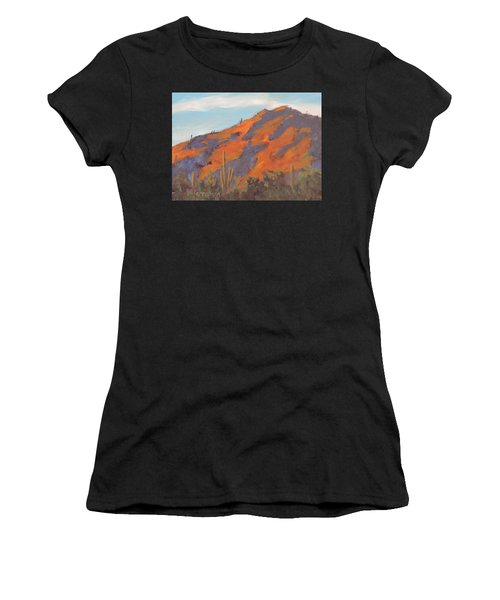 Sonoran Sunset - Art By Bill Tomsa Women's T-Shirt (Athletic Fit)