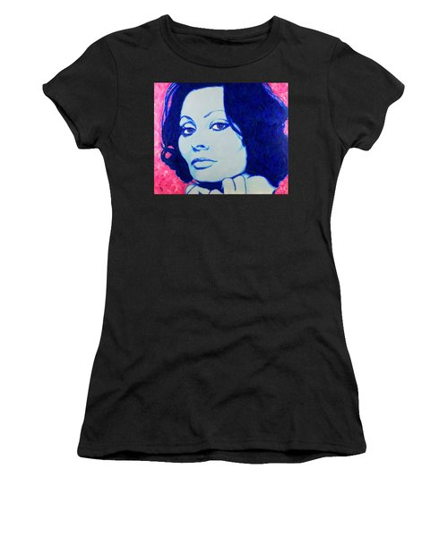 Sophia Loren Pop Art Portrait Women's T-Shirt