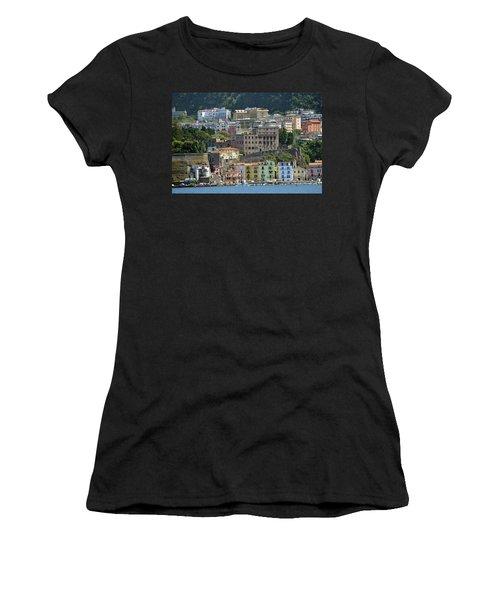 Capri's Marina Piccola Women's T-Shirt (Athletic Fit)