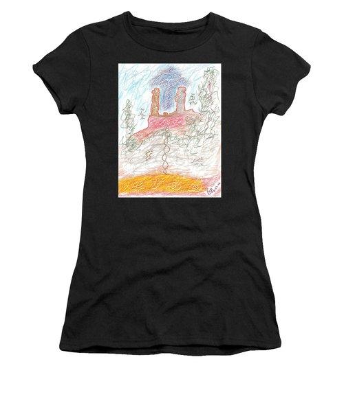 Soul Mates Women's T-Shirt (Athletic Fit)