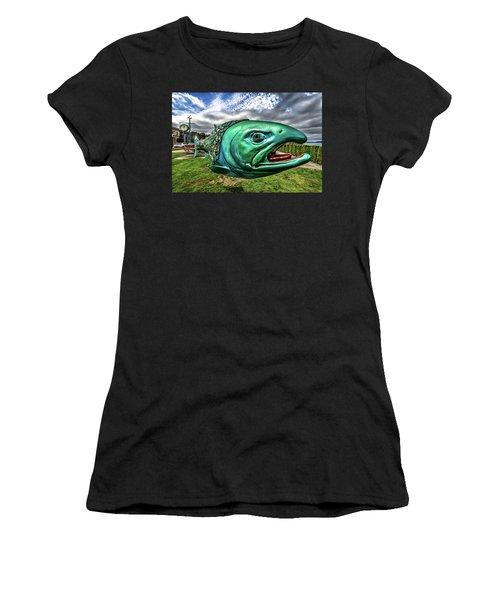 Soul Salmon In Hdr Women's T-Shirt