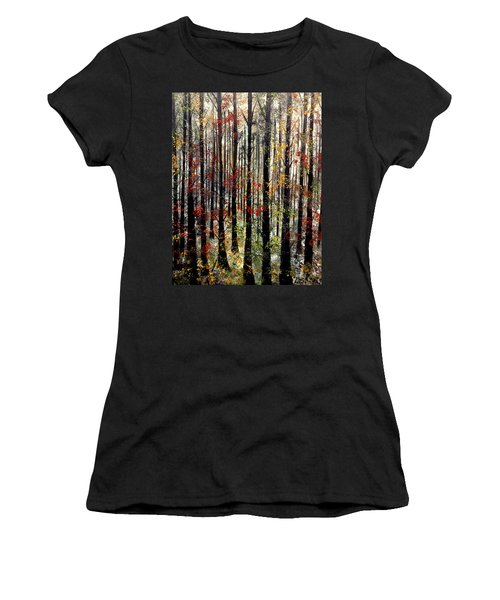 Sounds That Make Me Cry Women's T-Shirt (Junior Cut) by Lisa Aerts