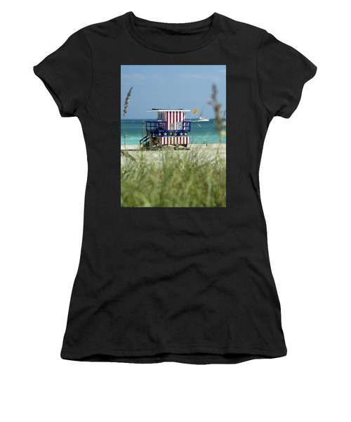 South Beach Women's T-Shirt (Athletic Fit)