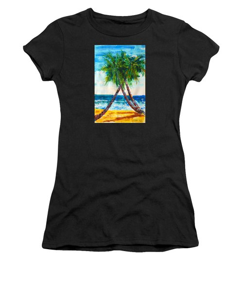 South Beach Palms Women's T-Shirt