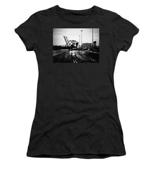 South Loop Railroad Bridge Women's T-Shirt (Athletic Fit)