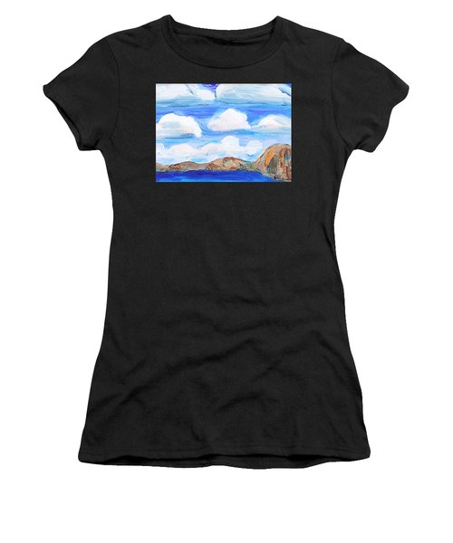 South Morro Bay View To North Women's T-Shirt