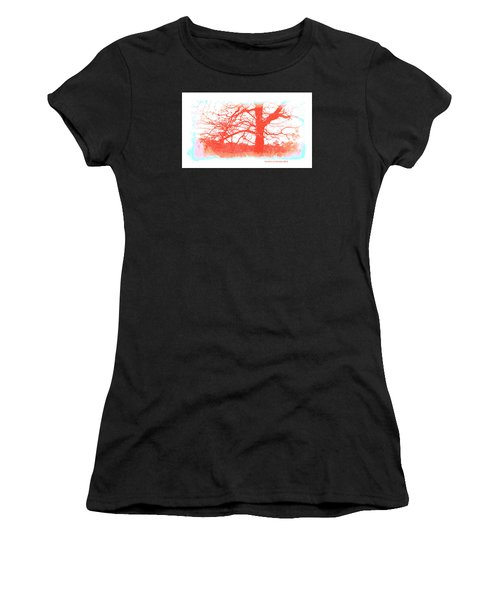 Women's T-Shirt (Junior Cut) featuring the photograph South Texas Impression by Carolina Liechtenstein