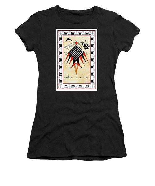 Southwest Bird Women's T-Shirt (Athletic Fit)