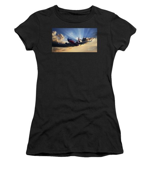 Southwest Dramatic Rays Of Light Women's T-Shirt
