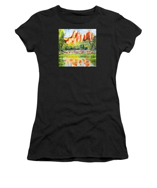 Southwest Reflections Women's T-Shirt (Athletic Fit)