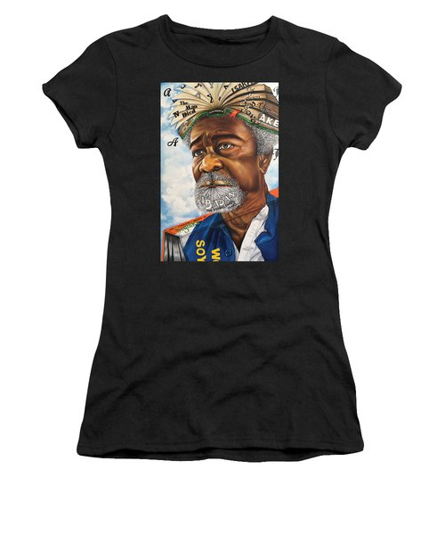 Soyinka An African Literary Icon Women's T-Shirt (Athletic Fit)