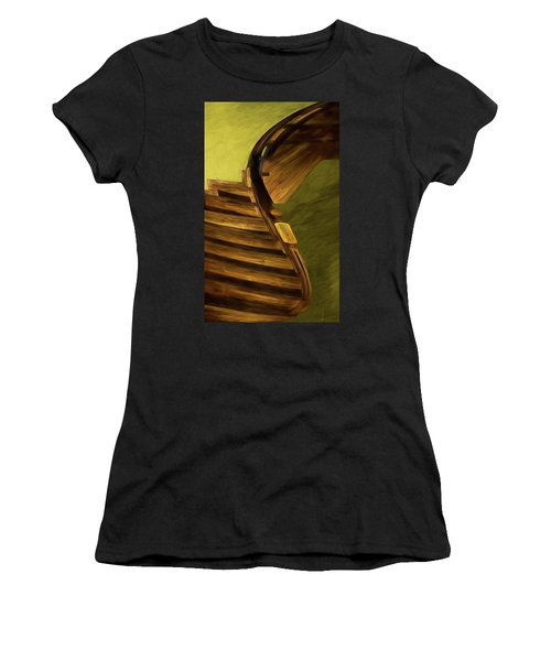Space Geometry #12 Women's T-Shirt (Athletic Fit)