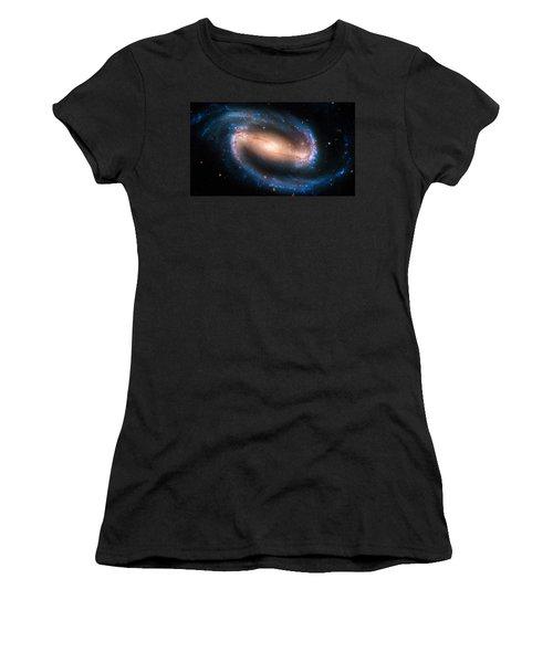 Space Image Barred Spiral Galaxy Ngc 1300 Women's T-Shirt (Junior Cut) by Matthias Hauser