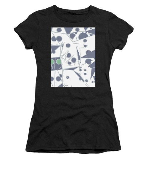 Space Warp  Women's T-Shirt (Athletic Fit)